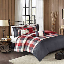 Madison Park Ridge Herringbone Duvet Collection