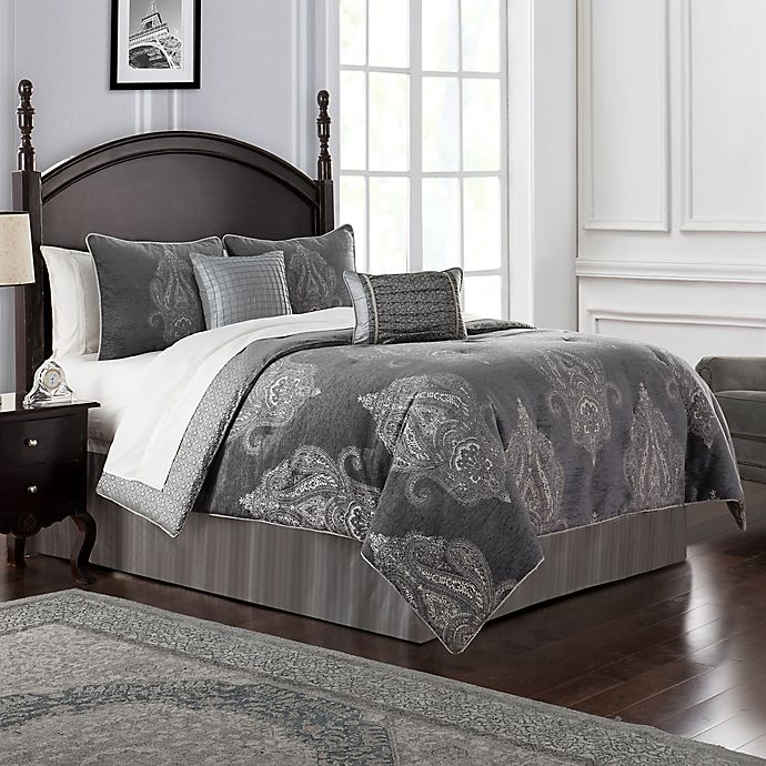 Alternate image 1 for Waterford® Ryan Reversible Comforter Set