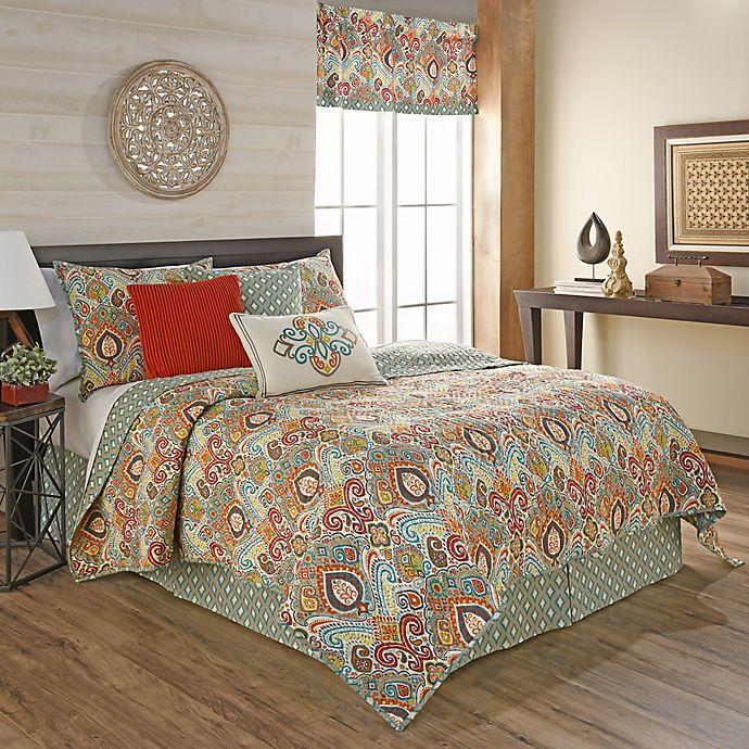Waverly 174 Boho Passage Reversible Quilt Set Bed Bath Amp Beyond