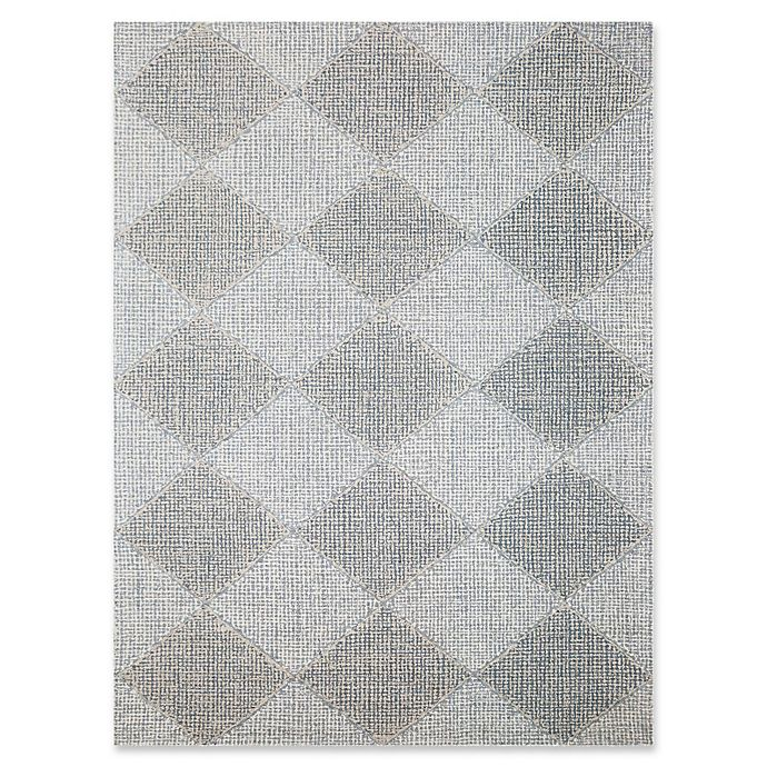 Checkered Bath Rug: Amer Amanya Checkered Rug