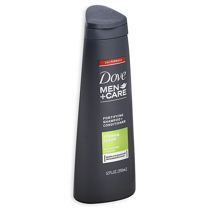 Alternate image 1 for Dove® 12 oz. Men+Care 2-in-1 Shampoo and Conditioner in Fresh and Clean