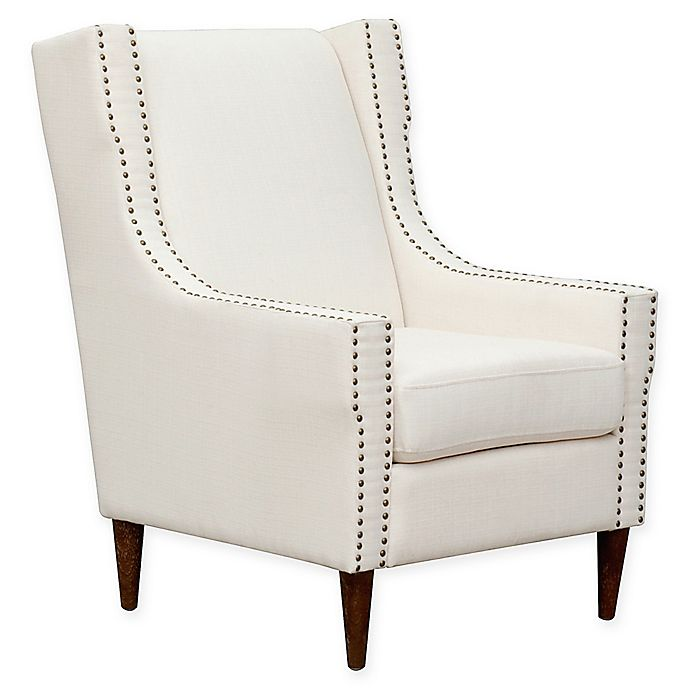 Alternate image 1 for Chic Home Newton Linen Accent Chair