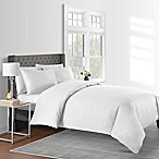 625-Thread-Count Solid King Duvet Cover Set in White