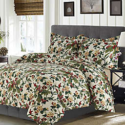 Madrid Printed Tropical Rainforest Oversized Duvet Cover Set