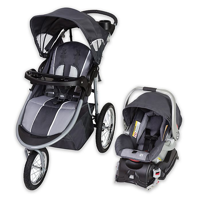 Alternate image 1 for Baby Trend® Cityscape Jogger Travel System