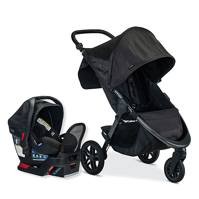 Alternate image 1 for BRITAX® B-Free & Endeavours Travel System