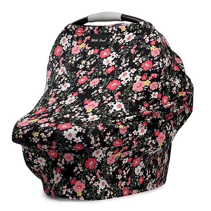 Alternate image 1 for Milk Snob® Multi-Use Car Seat Cover in Peony Floral