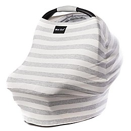 Milk Snob® Multi-Use Car Seat Cover in Cream/Grey Stripe