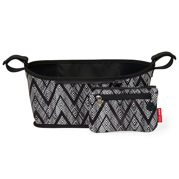 Alternate image 1 for SKIP*HOP® Grab & Go Stroller Organizer in Zigzag Zebra