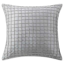 Waterford® Ryan Square Throw Pillow  in Platinum