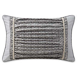 Waterford® Ryan Oblong Throw Pillow  in Platinum