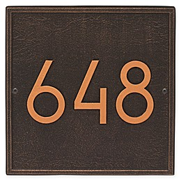 Whitehall Products Square Modern Wall Plaque