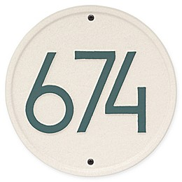 Whitehall Products Round Modern Wall Plaque