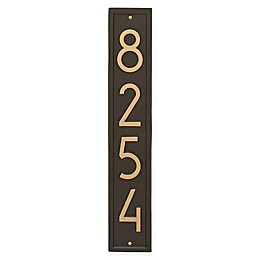 Whitehall Products Vertical Modern Wall Plaque