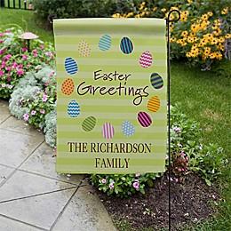 Easter Greetings Garden Flag