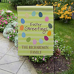 Easter Greetings Garden Flag