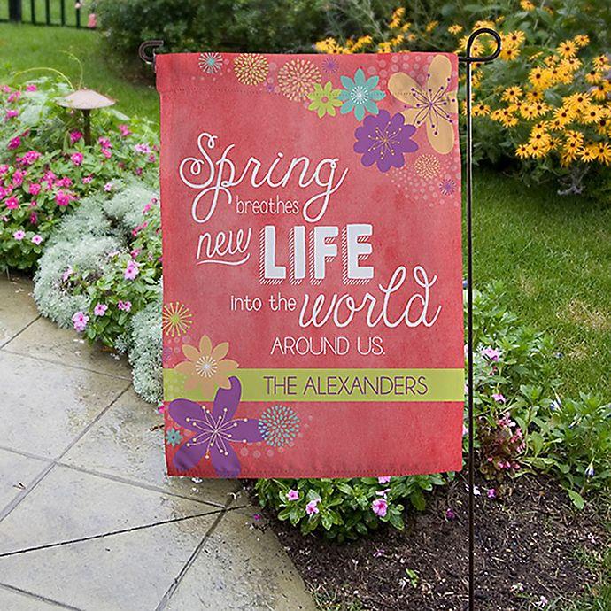 Alternate image 1 for Spring Flowers Garden Flag