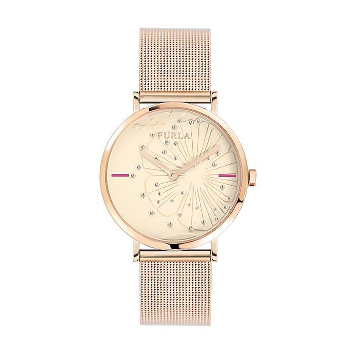 Alternate image 1 for Furla Giada Ladies' 33mm Watch in Rose Goldtone Stainless Steel