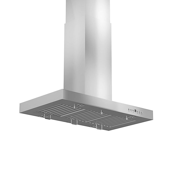 Alternate image 1 for ZLINE Classic Series KE2i Stainless Steel Island Range Hood