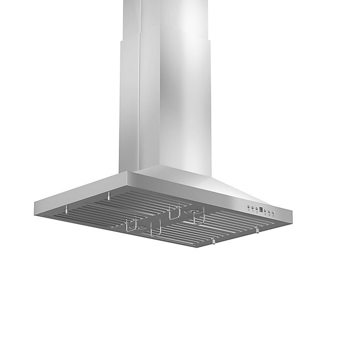 Alternate image 1 for ZLINE X Series GL2i 30-Inch Stainless Steel Island Range Hood