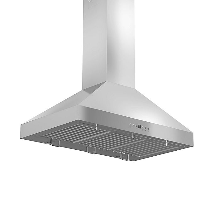 Alternate image 1 for ZLINE Classic Series KL3i-400 36-Inch Stainless Steel Island Range Hood