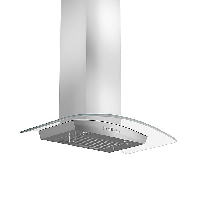 Alternate image 1 for ZLINE Classic Series KZ-400 36-Inch Wall Range Hood in Stainless Steel/Glass