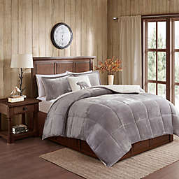 Woolrich® Alton Plush to Sherpa Comforter Set
