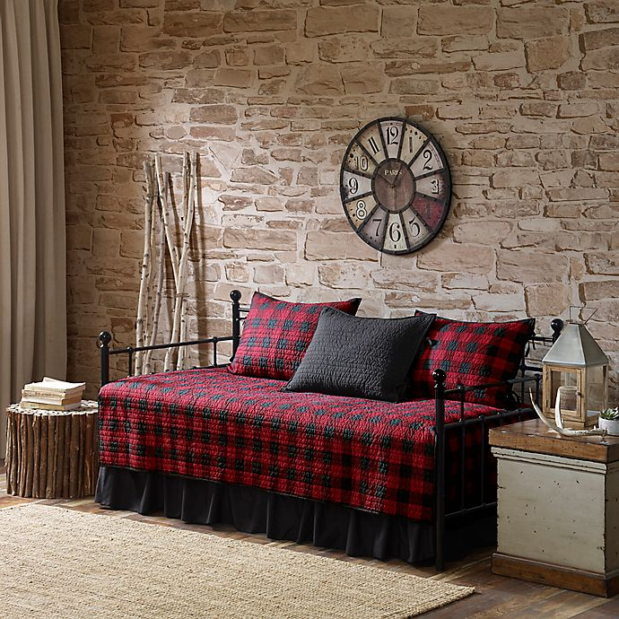 Alternate image 1 for Woolrich® Buffalo Check Reversible Daybed Set