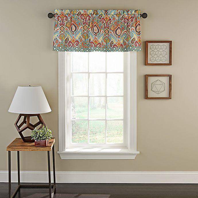 Waverly® Boho Passage Window Valance In Grey