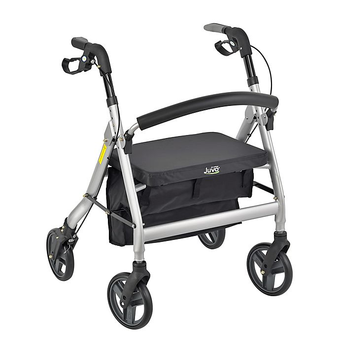 Alternate image 1 for Heavy-Duty Personal Rollator