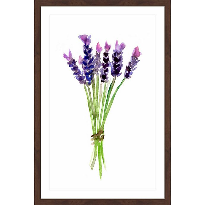 Alternate image 1 for Marmont Hill Lavender 24-Inch x 36-Inch Framed Wall Art