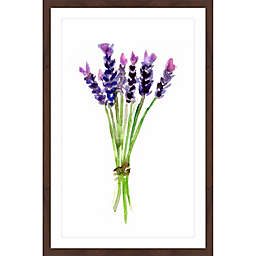 Marmont Hill Lavender 12-Inch x 18-Inch Framed Wall Art
