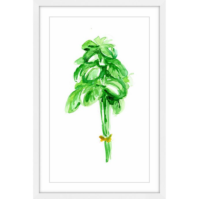 Alternate image 1 for Marmont Hill Basil 24-Inch x 36-Inch Framed Wall Art