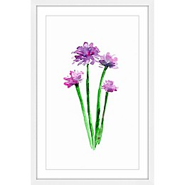 Marmont Hill Chive 12-Inch x 18-Inch Framed Wall Art