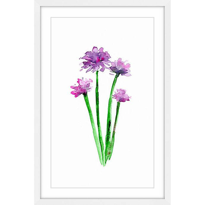 Alternate image 1 for Marmont Hill Chive 20-Inch x 30-Inch Framed Wall Art