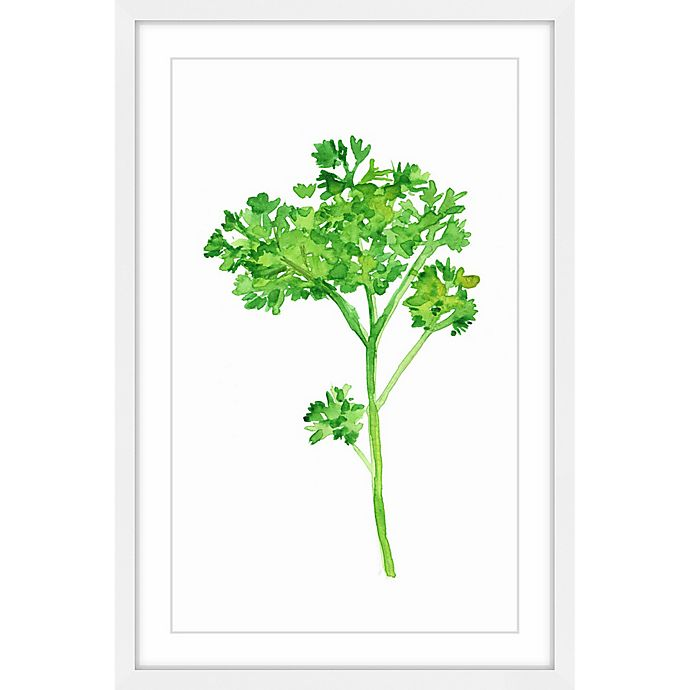 Alternate image 1 for Marmont Hill Parsley 20-Inch x 30-Inch Framed Wall Art