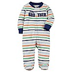 carter's® Size 6M Little Brother Sleep & Play Footie
