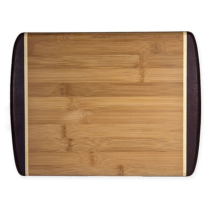 Alternate image 1 for Totally Bamboo® Java 9-Inch x 12-Inch Java Cutting/Serving Board