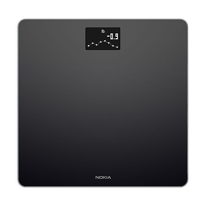Alternate image 1 for Withings Nokia Body BMI Smart Wi-Fi Scale in Black