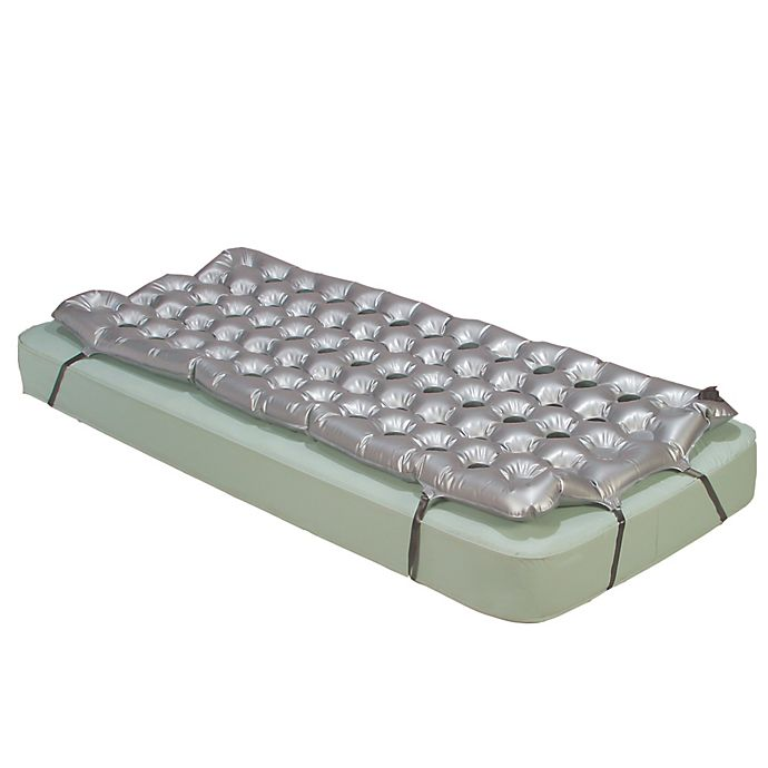 Alternate image 1 for Drive Medical Air Mattress Overlay Support Surface in Grey