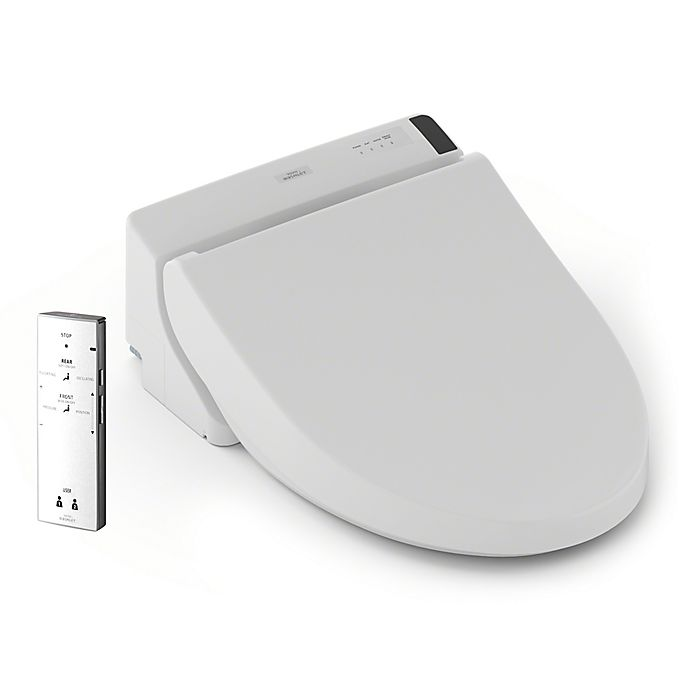 Toto Washlet A200 Elongated Bidet Toilet Seat With Remote In White