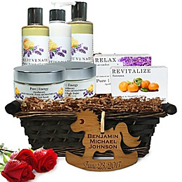 Pure Energy Apothecary Ultimate Body Pure Aroma Gift Basket for Baby