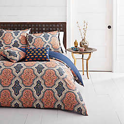 Azalea Skye® Rhea 3-Piece Reversible Full/Queen Duvet Cover Set in Orange