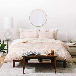 Deny Designs Monika Strigel Waiting For You Twin Duvet Cover Set in Rose