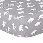 The Peanut Shell® Woodland Trails Fitted Crib Sheet