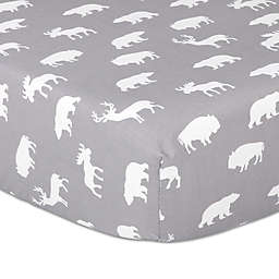 The Peanutshell™ Woodland Trails Fitted Crib Sheet