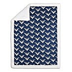 The Peanutshell™ Woodland Trails Blanket in Navy