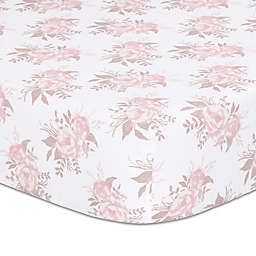 The Peanutshell™ Grace Fitted Crib Sheet