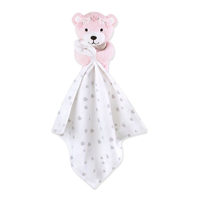 Alternate image 1 for Wendy Bellissimo™ Mix & Match Savannah Bear Snuggle Blanket in White/Grey