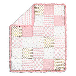 The Peanutshell™ Sweet Swan Patchwork Quilt